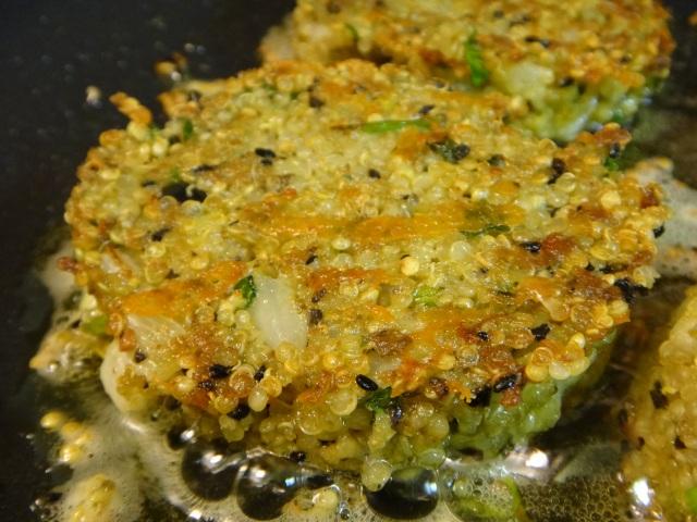 Pin #10: Quinoa Cakes with Lemon, Oil & Parsley ...