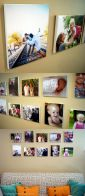 Pinterest In Real Life: DIY Wall Canvas Photos