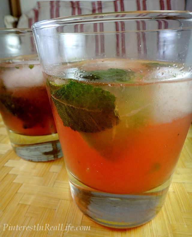 Pinterest In Real Life: Strawberry Watermelon Mojitos