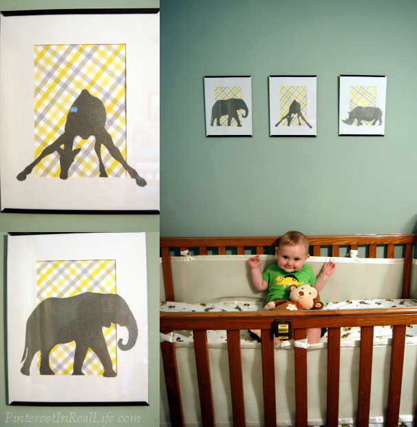 Diy Wall Decor Ideas Nursery : Pin diy nursery room decor in real life