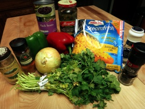 southwestern stir fry ingredients